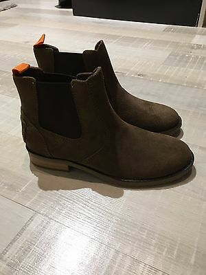 Bottines Montantes Garcon Marron Ikks Pointure 33