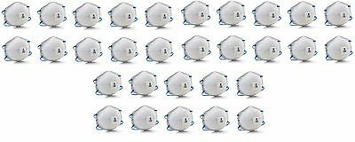 3M 8576 P95 Particulate Respirators, w/ Nuisance Level Acid Gas Relief - 30 Pack