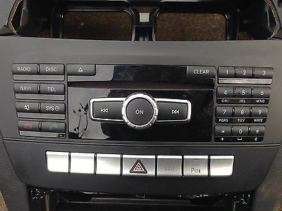 Mercedes C Class W204 S204 2007-2014 Sat Nav Unit Complete With Screen Etc