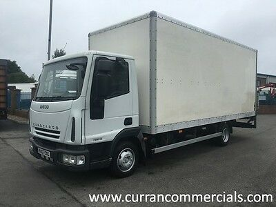 07 Iveco 75e16 eurocargo 7.5T 20ft GRP Box With Tail Lift 252000km Manual