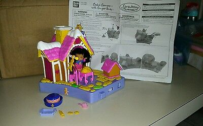 Strawberry Shortcake Berry Cute House playset doll Cookie Corners Ginger Snap