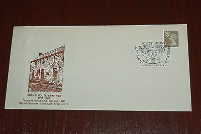 1982 Robert Burns House Cover Official Burns cover No 2