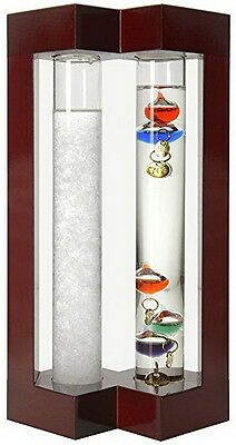 Galileo Ambient Weather Thermometer Admiral Fitzroy Storm Glass and Galileo NEW