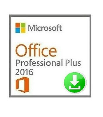 Microsoft Office 2016 Professional Plus - RETAIL - FOR PC - 1 DEVICE