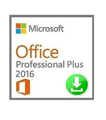 Microsoft Office 2016 Professional Plus - FPP - FOR PC - 1 DEVICE