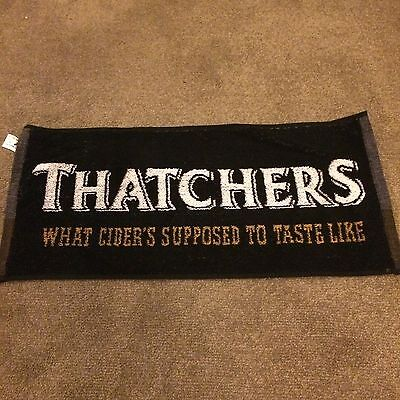Bar Towel.Thatchers Cider What Ciders Supposed To Taste Like.Bar Towel.Brand New