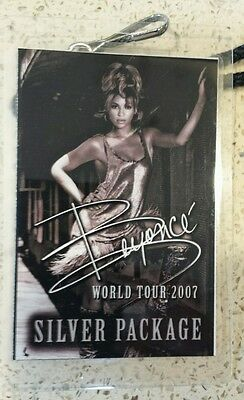 1 BEYONCE 2007 WORLD TOUR CONCERT Lanyard Oakland USED