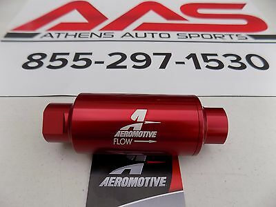 New Aeromotive In Line An-10 10 Micron Fuel Filter 12301