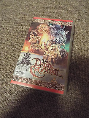*RARE VINTAGE* Jim Henson THE DARK CRYSTAL Muppet Home Video VHS 1982 1987
