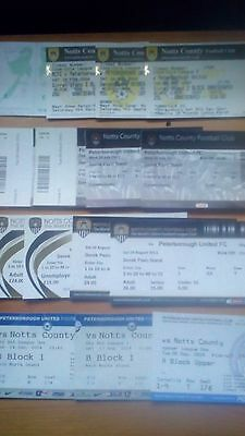 15 x Peterborough United v Notts County Tickets . All Excellent