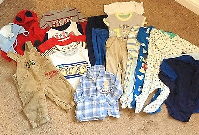 boys bundle 6-9 months large 20 items