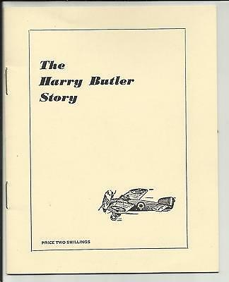The Harry Butler Story - Small Booklet On Early Mail Carrying In South Australia