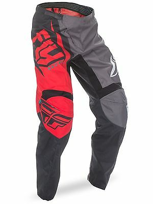 Fly Racing Red-Black 2017 F-16 Kids MX Pant
