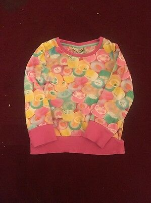 Next Girls Pink Sweatshirt Age 3-4yrs