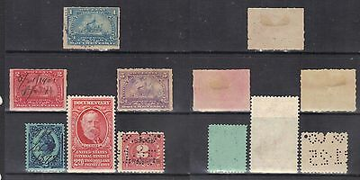 USA-Documentary stamps.