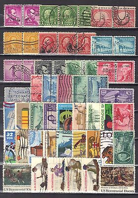 """USA-page of stamps. """"2""""."""