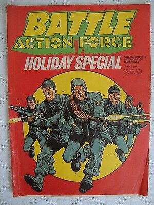 Battle Action Force Holiday Special Comic - 1984 Johnny Red, The Hunters etc