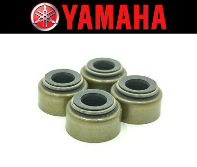 Set of (4) Intake & Exhaust Valve Stem Seals Yamaha (See Fitment Chart)