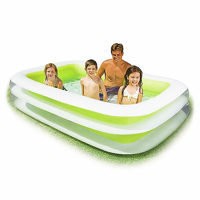 Intex Inflatable Swim Center Family Swimming Pool, Lime Green | 56483EP