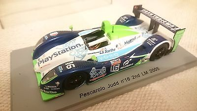 Pescarolo Judd #16 Le Mans 2005 1:43 die cast model by Spark