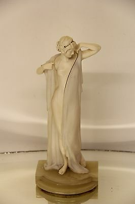 Gorgeous Antique 19th Century German Marble Statue Signed by E. Seger