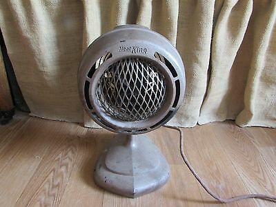 Antique Heat-King Electric Heater in Great Working Condition #3090
