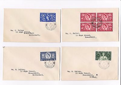 GB 1953 Coronation First Day Covers - #17/139