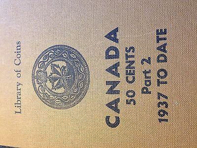 Canada 50 Cents Part 2 1937-65 Library of Coins Album Good Condition