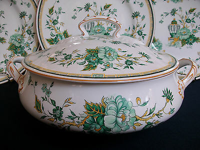 CROWN STAFFORDSHIRE KOWLOON (c1974+) COVERED SERVING BOWL-RARE! EXCELLENT! MINT!