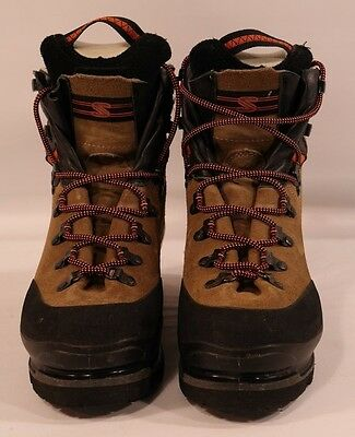"Womens ""SALOMON"" Super mountain 9- mountaineering boots(US-8)""Italy"" brown/black"