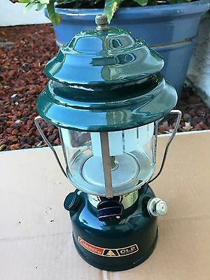 Vintage Coleman Model CL-2 Camping Lantern Dated 3 84  NICE!