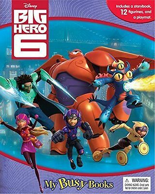 Disney Big Hero 6 My Busy Books With 12 Character Figures And Playmat