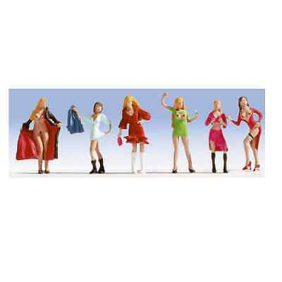 Noch Ho Scale 1/87 Ladies Of The Night Figures | Bn | 15959