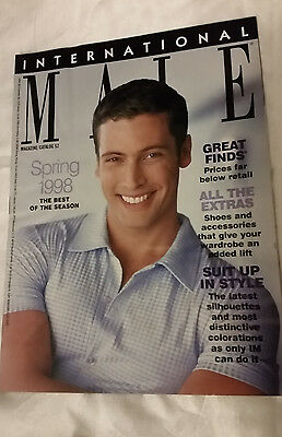 International Male Catalog 1998 Spring Issue - Monte Grix Cover Men's Fashion