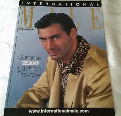 International Male April 2000 Catalog Summer Fashion Preview - Bryce Buell Cover