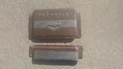chevrolet chevy 1939 dash board plates for ash tray