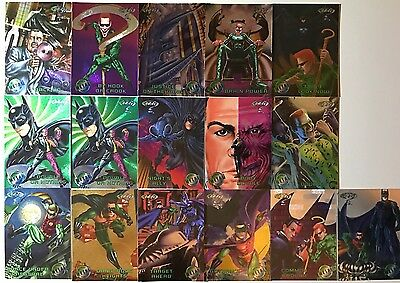 Batman Forever Metal(Foil) Various Trading Cards