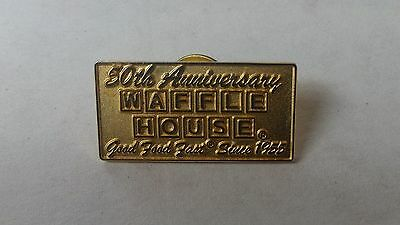 Waffle House 50th anniversary Collectors Pin