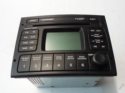 Holden Commodore Vy Vz Factory 6 Stacker Cd Radio Head Unit Black 10/02-09/07