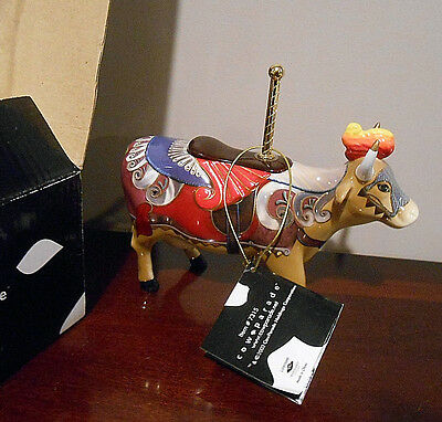 New!  COW PARADE - Lady Camelot - retired -  2002 - NIB