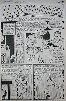 T.H.U.N.D.E.R. Agents #15 Complete 8 Page Story - LA - 1967 art by Chic Stone