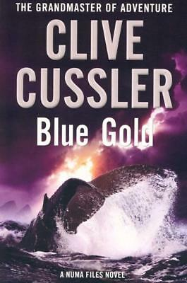 NEW Blue Gold By Clive Cussler Paperback Free Shipping