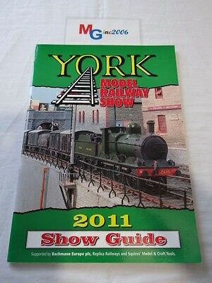 York Model Railway Show 2011 51 Page Show Guide Paperback