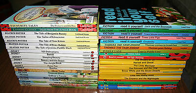 Huge lot of 44 Glossy Hardcover LADYBIRDS Children's series Disney, Well Loved +