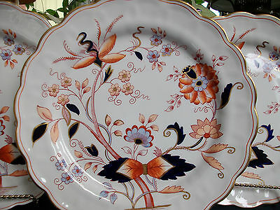 BOOTHS FRESIAN A8022-(c.1944-81)- DINNER PLATE- EXCELLENT!! GILT!! MINT!!