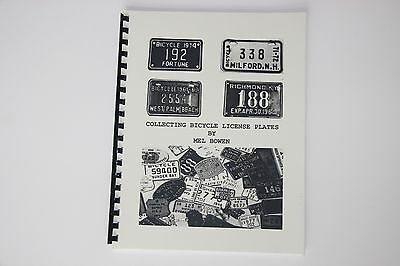 Bicycle License Plate Collecting by Mel Bowen US & Canada