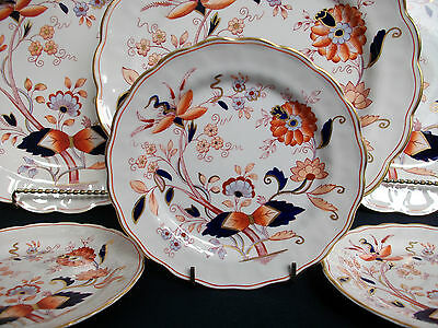 BOOTHS FRESIAN A8022-(c1944-81)- BREAD & BUTTER PLATE (s)-EXCELLENT! GILT! MINT!