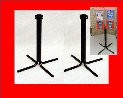 2 Northwestern 60 Series or 80 Series Bulk Candy Gumball Vending Machine Stands