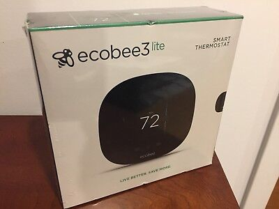 Ecobee3 Lite Smart Wi-Fi Thermostat NEW/SEALED