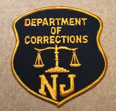 NJ New Jersey State Department of Corrections Patch